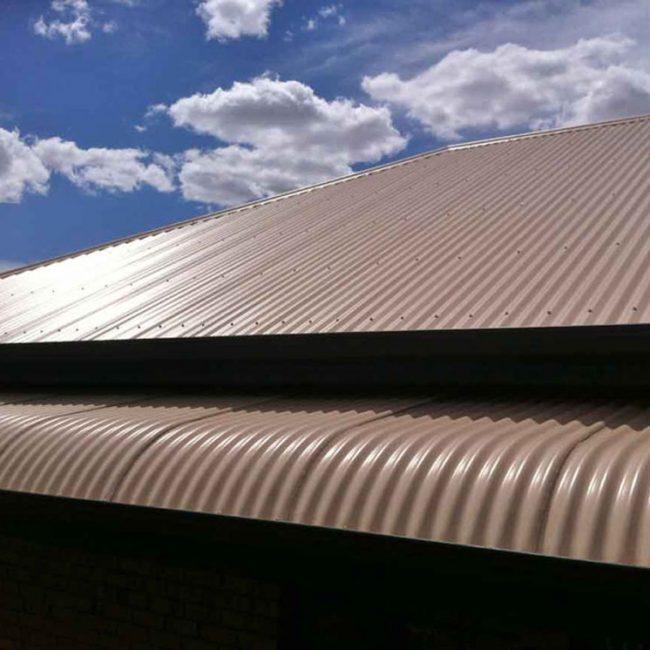 Beige Colorbond Roof