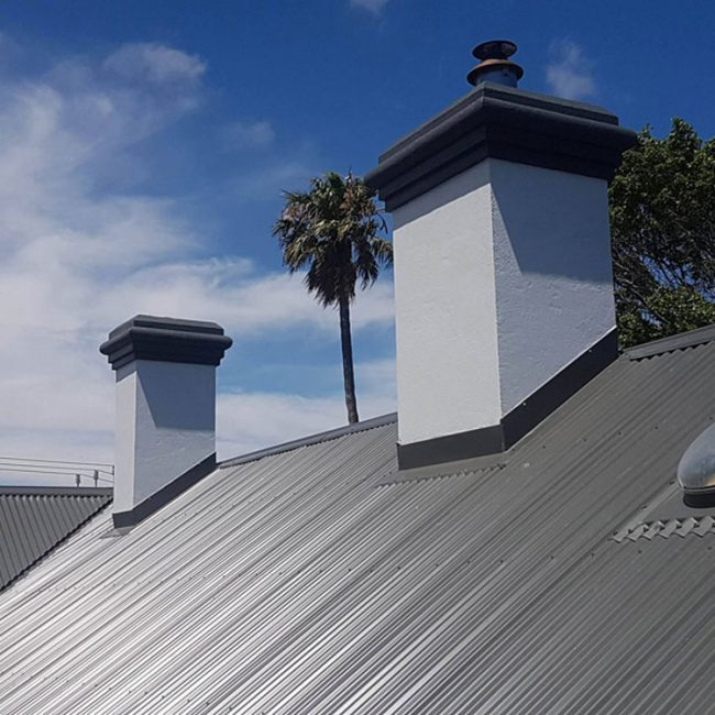Colorbond Metal Roof Chimney