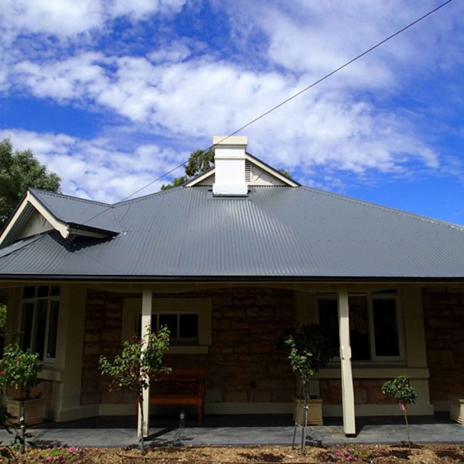 Grey Corrugated Iron Roof