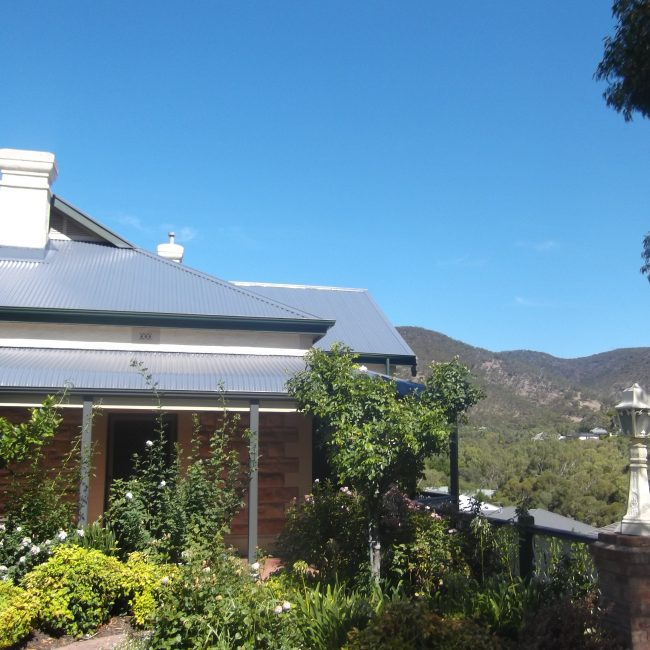 Roof Replacement - Grey Metal Colorbond Roof - Roof & Render