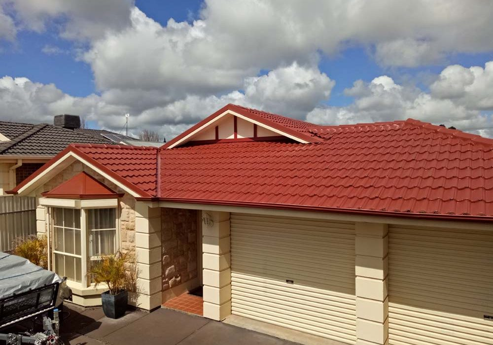 Tiled Red Roof Restoration