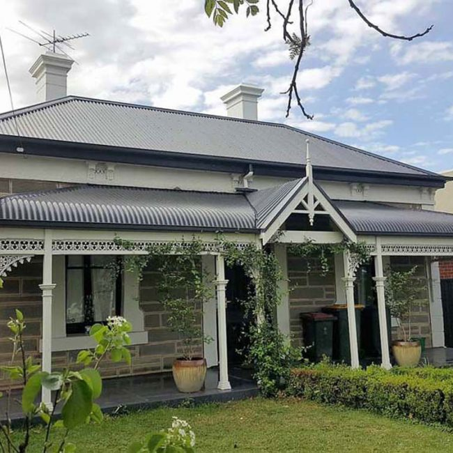 Traditional Metal Roof Replacement
