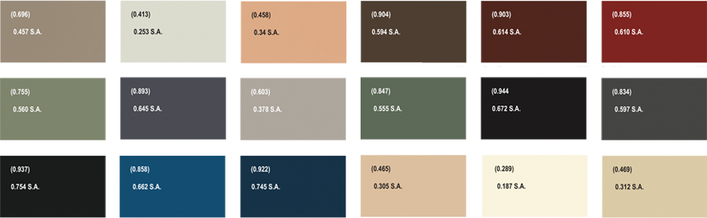 astec colour swatches